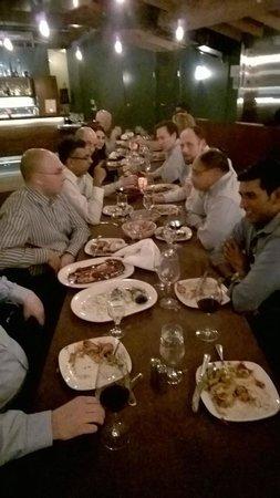 Reposado Restaurant : Group table upstairs