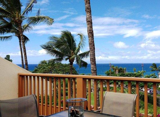 Maui Kamaole: Amazing view from lanai