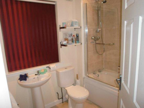 Bramblewood Bed & Breakfast: Bathroom with THAT powerful shower
