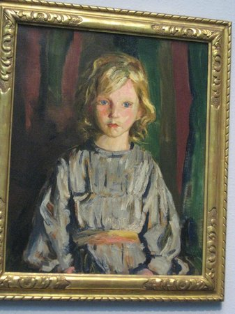 Pennsylvania Academy of the Fine Arts: Portrait of a young girl