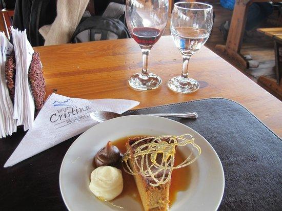 Estancia Cristina: Sobremesa caprichada!