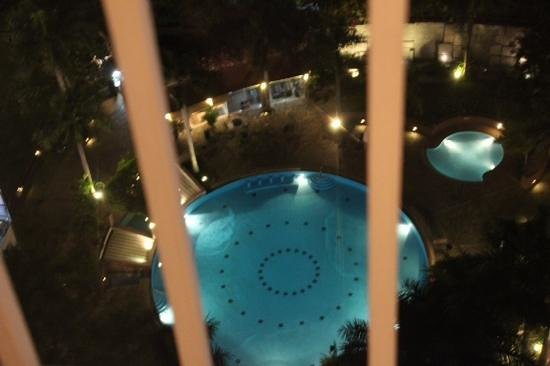 Lotte Legend Hotel Saigon : view from our room to the pool