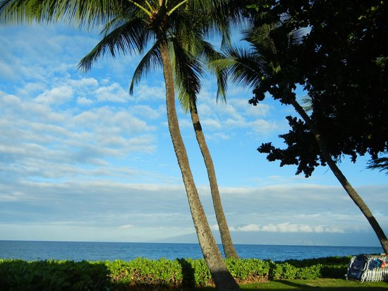 Aston Maui Kaanapali Villas: View of Molokai from the patio at Castaways