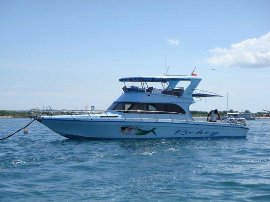 World Surfaris: The boat
