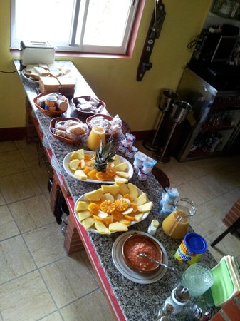 BALNEARIO RURAL MIRADOR DE MIRANDA: Desayunos