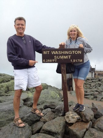 Mount Washington Observatory Weather Discovery Center: July 2013 , we made it !!!