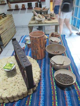 Chocolates Kaokao Factory tour : education room
