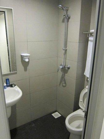 Marrison Hotel: Bathroom, so tiny