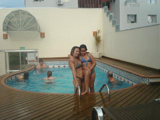 Tarobá Hotel: Estava um ótimo dia...