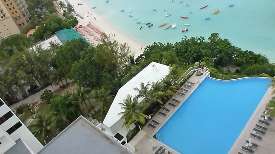 Guam Reef & Olive Spa Resort : ビーチタワー11階