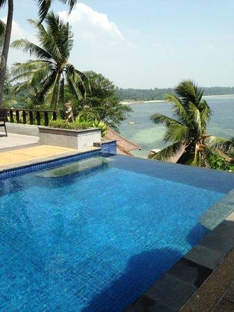 Banyan Tree Bintan : pool at our vila