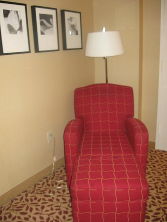 Atlanta Marriott Century Center/Emory Area : A chair for relaxing after a busy day.