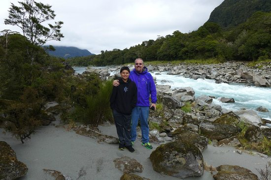 Waiatoto River Safari: Short Hike - Rapids