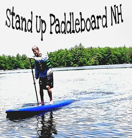 Stand Up Paddleboard NH: afternoon paddleboard squam lake