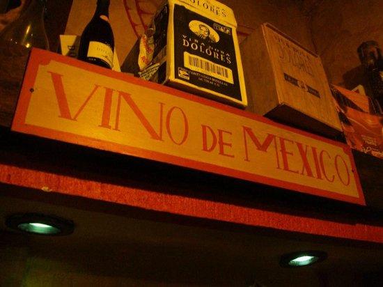 La Vina de Bacco: detalle