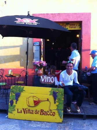 La Vina de Bacco: MI LUGAR FAVORITO EN SANCRISTOBAL