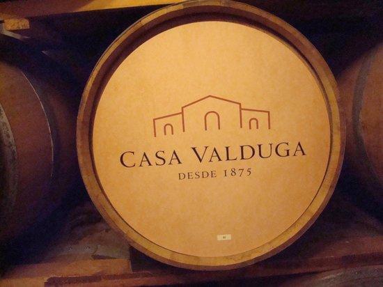 Casa Valduga Winery: barril personalizado