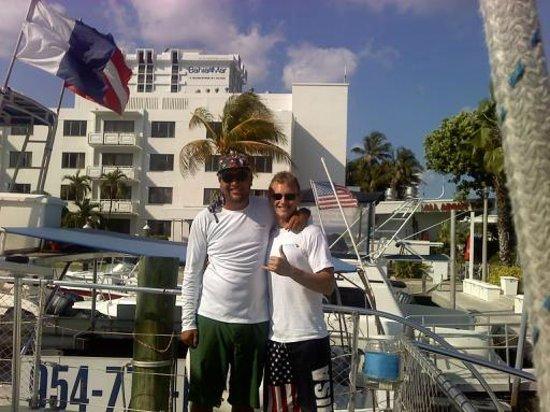 Tropical Sailing: Kai and James