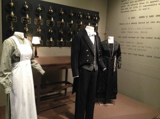 "Winterthur Museum, Garden & Library: ""Costumes of Downton Abbey"" explores both the servants' and Crawley family attire."