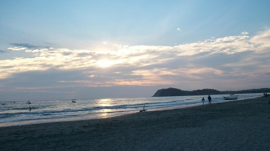 Hotel Villas Playa Samara : sunset