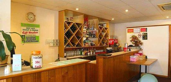 Dragon Garden Chinese Restaurant: Drinks Preparation Area