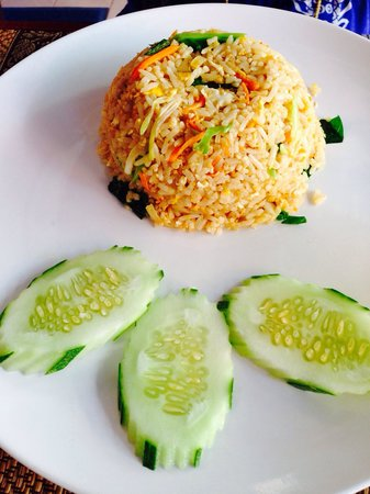 Dreams Villa Resort: Chicken fried rice, yummy