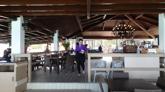 De Palm Island: Inside the buffet area