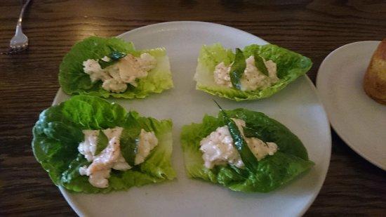 Cutler & Co: Appetiser-Devilled crab & cos lettuce