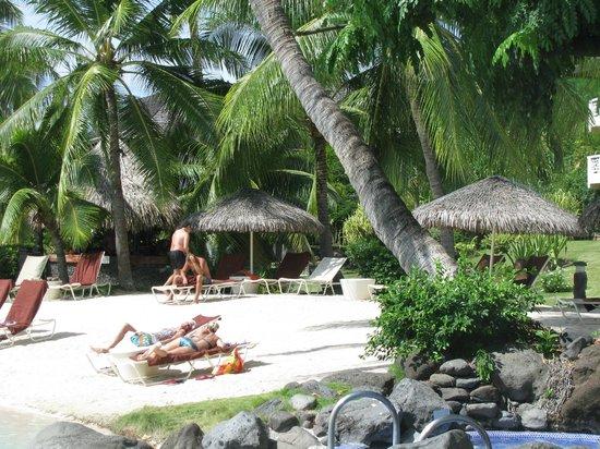 InterContinental Tahiti Resort & Spa: the beach pool
