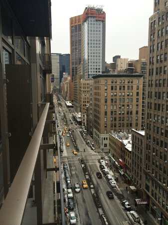Gansevoort Park Avenue NYC: View from room.