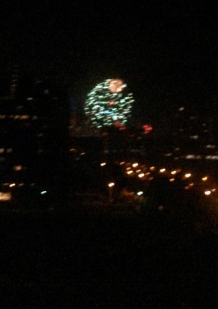 Melbourne Parkview Hotel : Moomba fireworks from my window