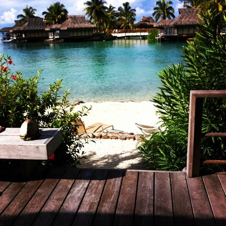 InterContinental Moorea Resort & Spa: Our bungalow