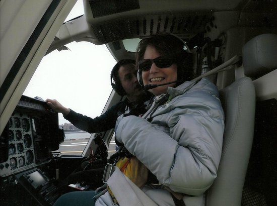 Zip Aviation - Helicopter Tours & Charters : Warp speed, Captain Woods; ready for take-off.