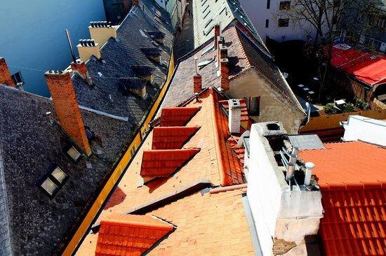 St. Michael's Tower & Street: City views of Bratislava