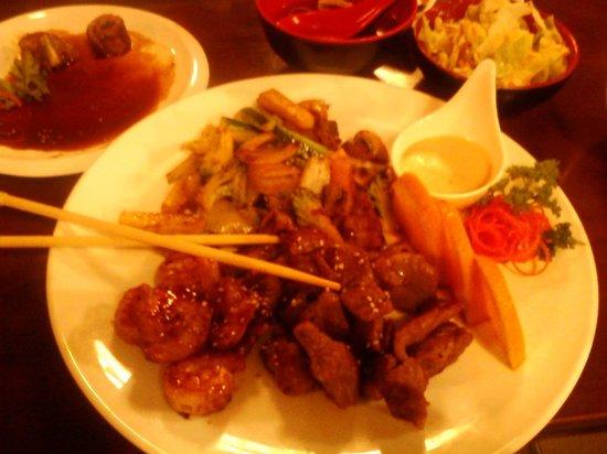 Hokkaido Sushi Bar and Japanese Restaurant: Hibachi style
