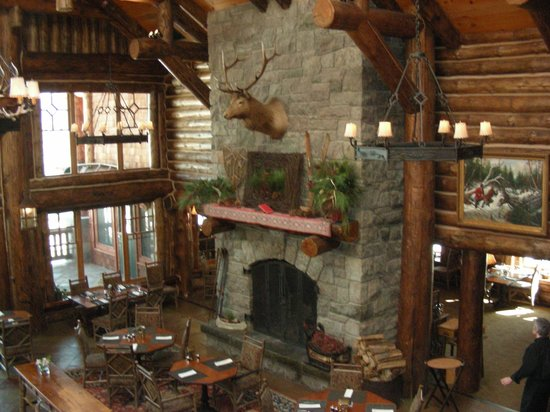 The Whiteface Lodge: Incredible dining room