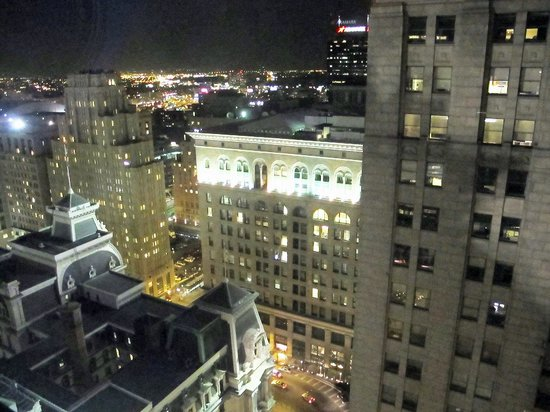 City Hall: View at night from Ritz Carlton