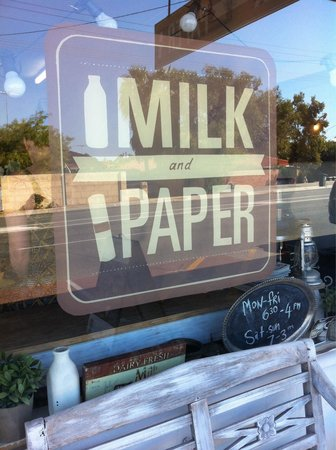 Milk and Paper