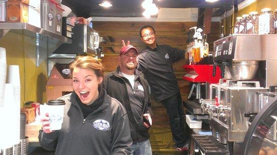 Boston Brewin Coffee: The Boston Brewin Crew - the friendliest in Boston!