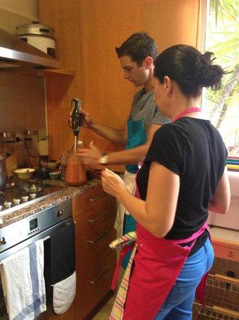 Boca a Boca foodie experience : Gazpacho time!