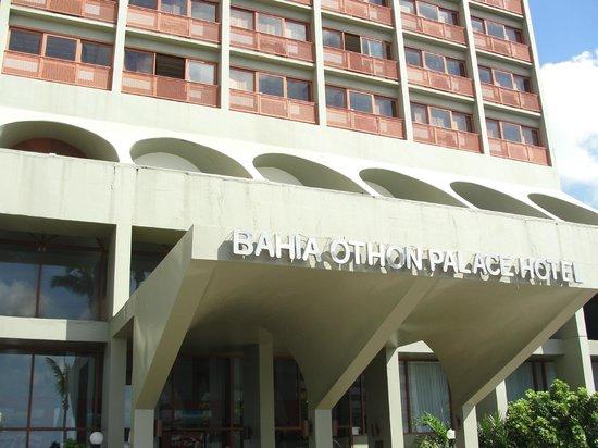 Bahia Othon Palace: Entrada do Hotel
