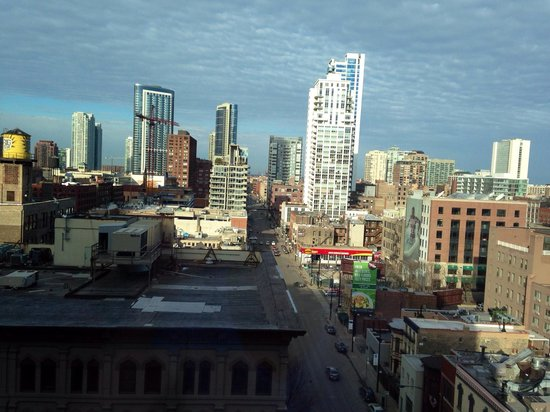 Aloft Chicago City Center: Beautiful view from our room!!