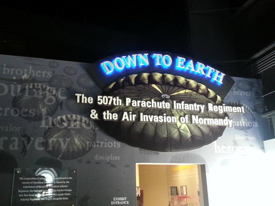 Museum of Aviation: Cool WWII exhibit