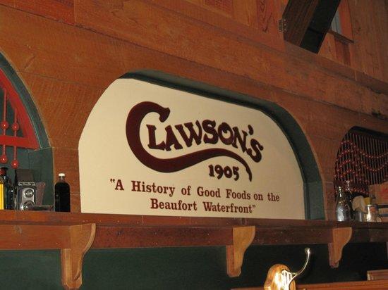 Clawson's 1905 Restaurant : Since 1905!!