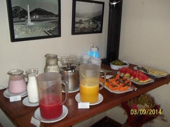 Pousada Riacho dos Cambucas: Desayuno