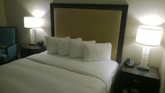 Washington Hilton: Executive King Room.