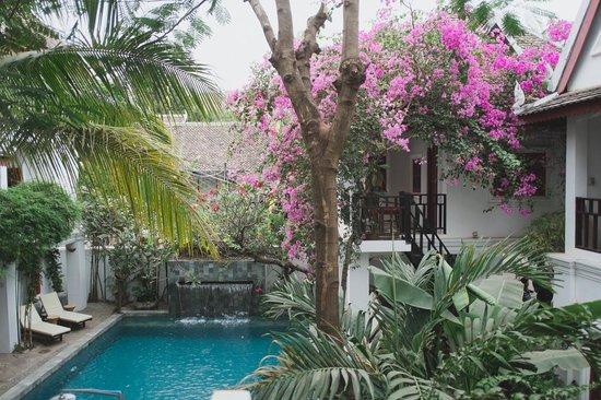 Rambutan Resort - Siem Reap: View from the monkey room