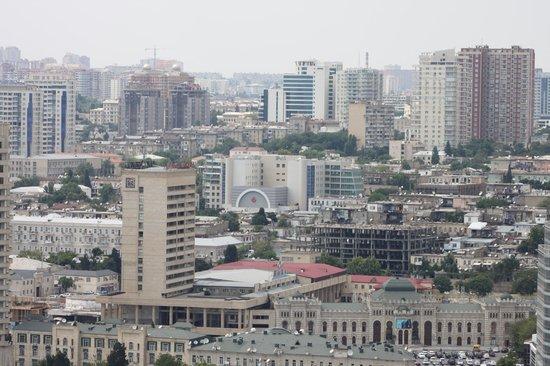 JW Marriott Absheron Baku: Terraço do Hotel