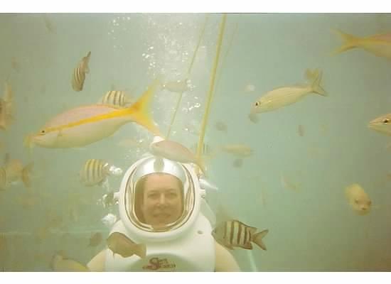 Sea Trek St. Maarten: Using Kodak Underwater Camera during SeaTrek