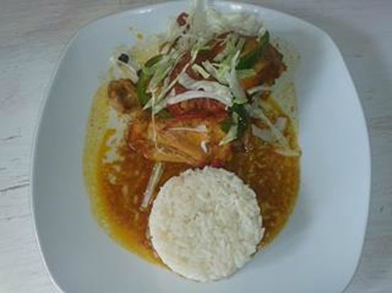 restaurant de leo: pollo agridulce a la naranja